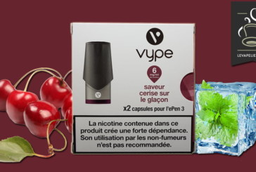 Cherry on Ice Cube de Vype