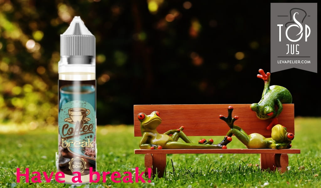 Koffiepauze (Vap'Land Juice Range) door Vap'Land Juice