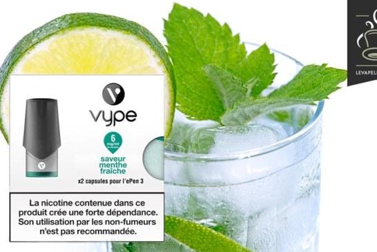 Menthe Fraiche par Vype