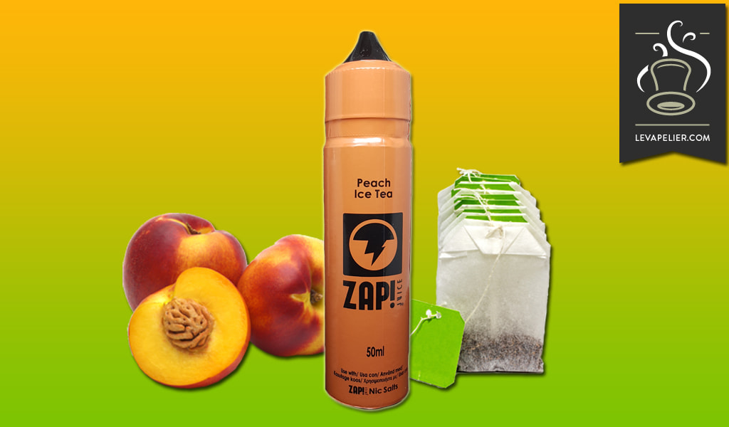 Peach Ice Tea (Gamme ZAP! 50ml) par ZAP JUICE