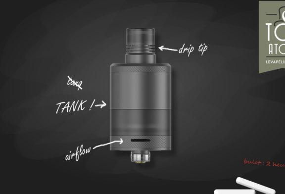 Precisio RTA Black Carbon par BD Vape