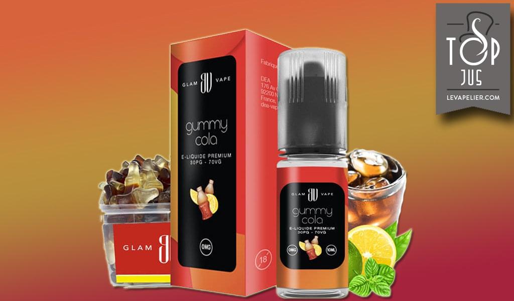 Gummy Cola (Gamme Glam Vape) par Eliquide-diy