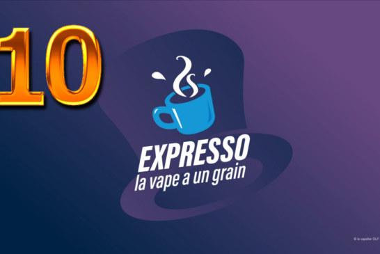 EXPRESSO 10 : ENOVAP