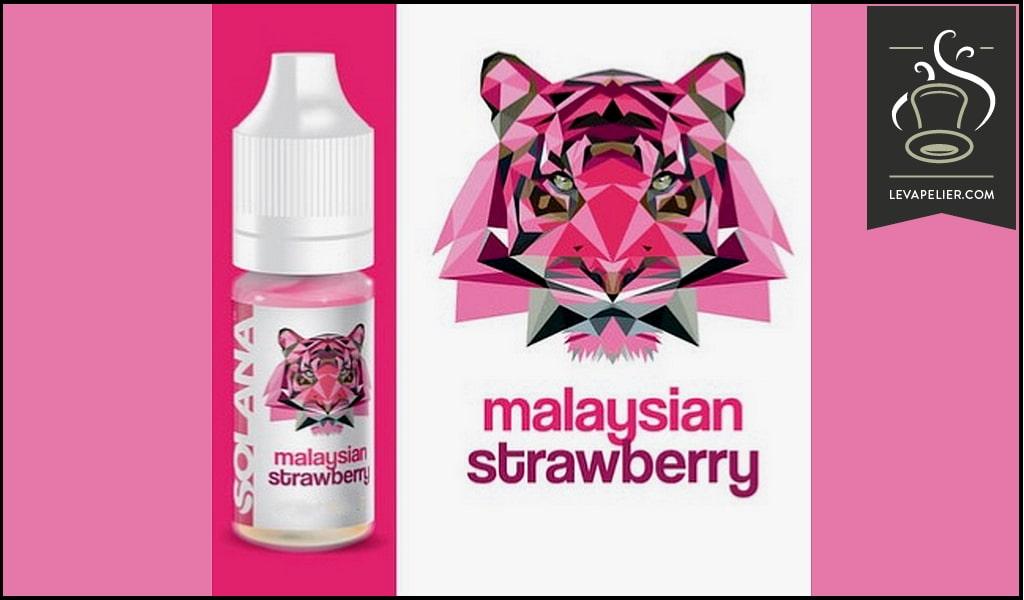 Malaysian Strawberry (Gamme Prêt à Vaper) par Solana