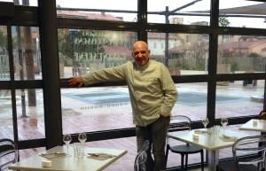 Yves Scorsonelli chef au restaurant L'Avant-Scène et Traiteur à La Garde