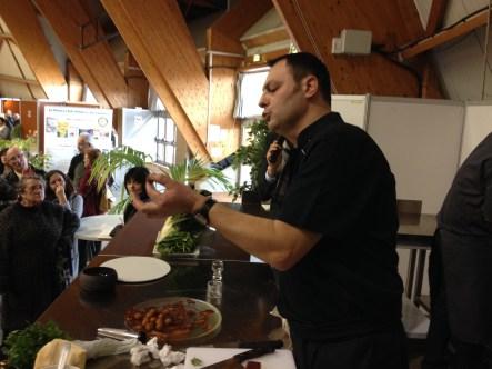 Serge Vaz, salon Terroir et Gastronomie Hyères
