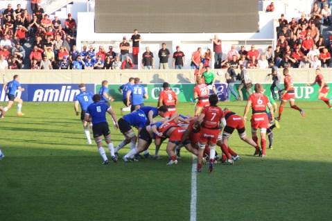 Côté stade, Toulon-Leinster