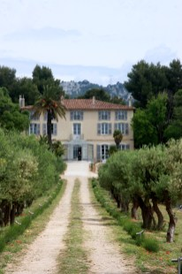La Villa Brignac, à Ollioules