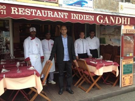 restaurant Gandhi Saint-Tropez