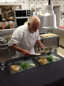 Le chef Alain Mari