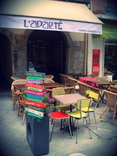 restaurant L'Aparté Toulon