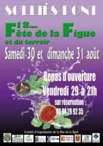 18ème fête de la figue à Solliès-Pont