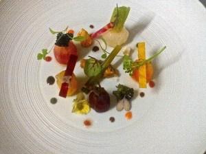Légumes de Roquebrune en cuits et crus.