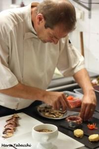 Le chef Lionel Desbrosses