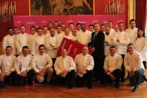 La promotion 2015 des chefs étoilés au Guide Michelin