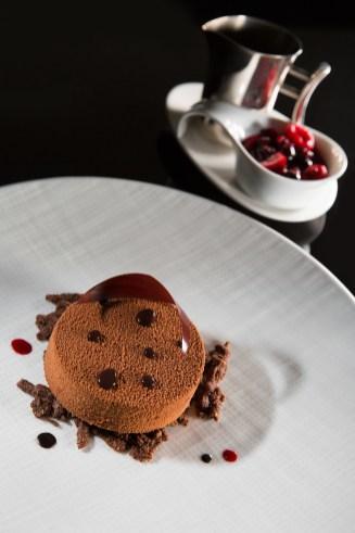 Au Gaudina, Parfait glacé au chocolat Grand Cru