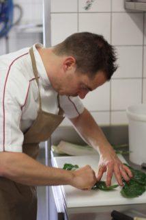 En cuisine, Quentin Joplet