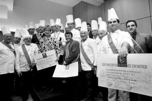 Le premier Diner de gala des Disciples d'Escoffier du Var en 2000.