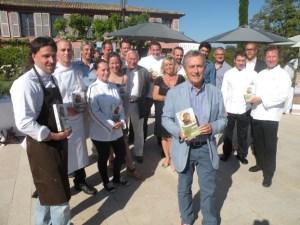 Lancement du Guide au Clos des Roses à Fréjus Copyright @G.Bernar