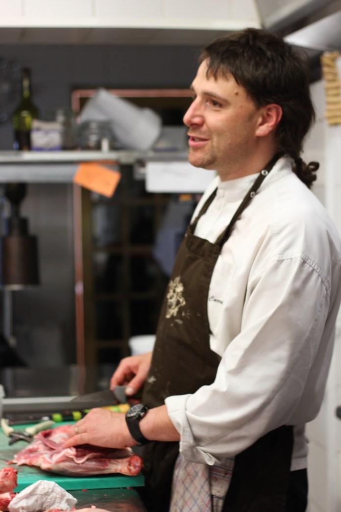 David Carré, chef au Carré d'Ange à Montauroux
