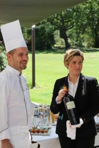Arnaud Boixirot, chef, et Manon Corriol, sommelière, au Mas du Lingusto à Cuers