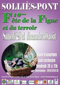 19ème Fête de la Figue à Solliès-Pont