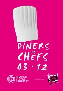 Dîners de Chefs 2015 pour les Restaurants du Coeur