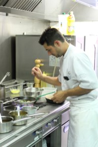 Julien Bazzano, Chef au Carré 2 Vigne à Toulon