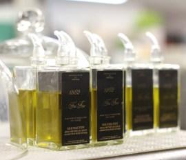 Une huile d'olive d'exception, celle du Moulin du Partegal, pour accompagner la gastronomie du chef