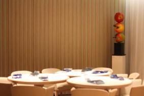 Un décor entièrement repensé, plus contemporain, en cohérence parfaite avec la gastronomie du chef