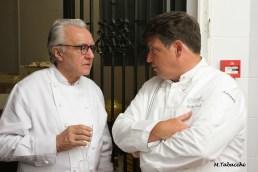 Alain Ducasse et Stéphane Lelièvre