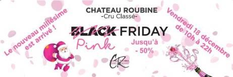 Pink Friday au Château Roubine