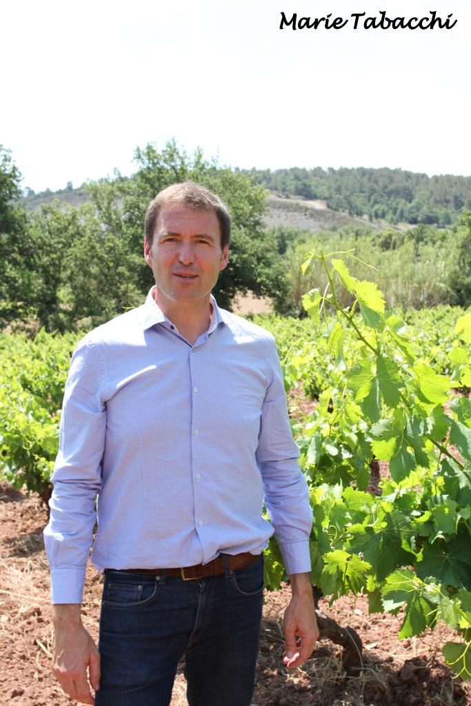 Christophe Durdilly, Président des Vignerons Indépendants du Var