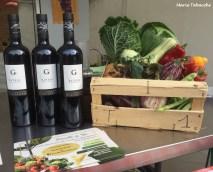 Les légumes de Julien, Parcelle de Vie, et les vins du Domaine Gueissard