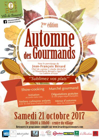 Automne des Gourmands 2017, Le Beausset