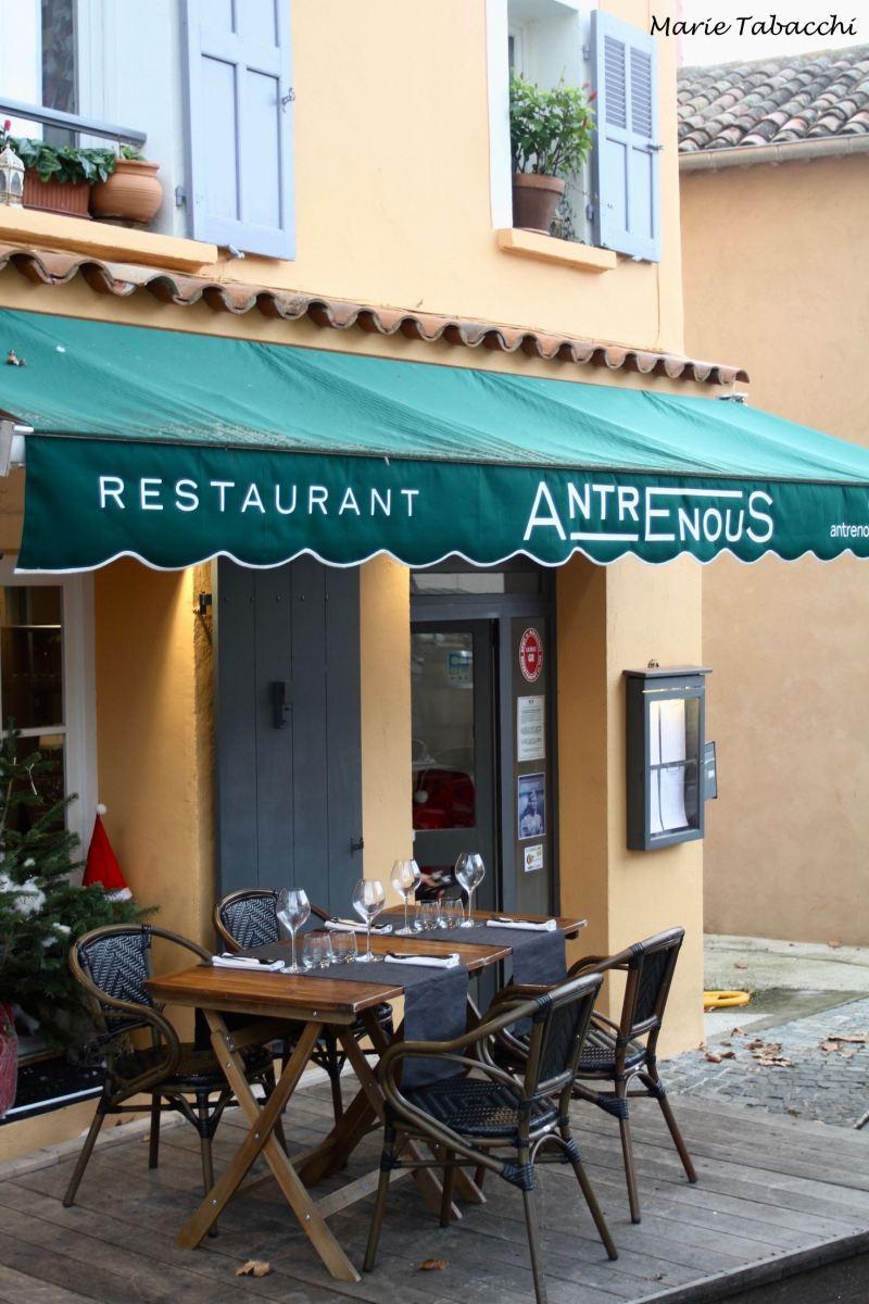 Antre Nous, restaurant Lorgues 2019