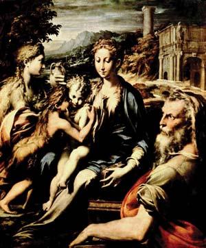 Иоанн с Ведуньей Марией и её детьми – Раданом и Радомиром