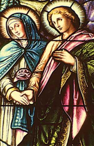 Радан со своей матерью, Ведуньей Марией, после гибели Радомира