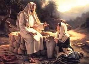 Иудейский пророк Джошуа со своей женой, Марией