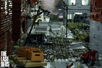 The Last Of Us'ı LEGO'larla inşa ettiler!