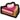 A pixel sprite of the Peach Tart from Super Mario Bros Paper Mario game series.