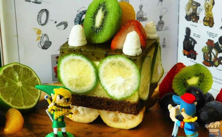 Legend of Zelda: Spirit Tracks – Cake Passenger Car
