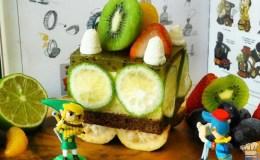 Legend of Zelda: Spirit Tracks – Cake Passenger Car