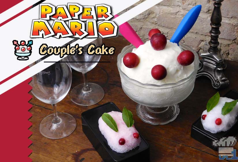 Paper Mario Couples Cake