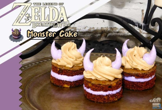 Zelda Breath Of The Wild Cake Recipe