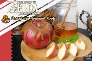 Legend of Zelda: Breath of the Wild – Energizing Honeyed Apple