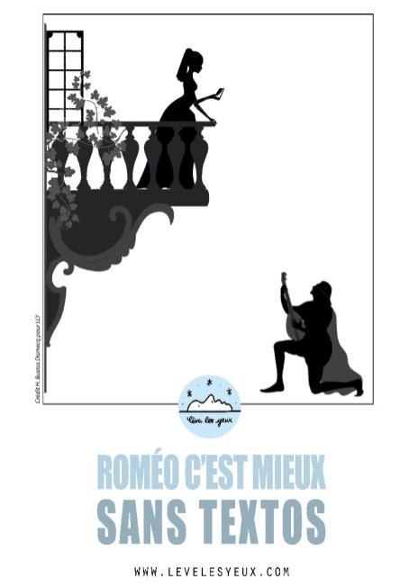 Roméo, c'est mieux sans textos !