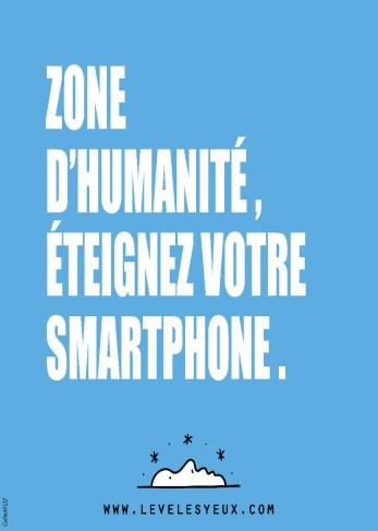 Zone d'humanité : éteignez votre smartphone