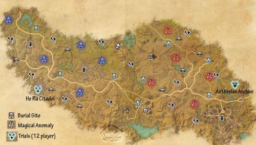 Craglorn Map