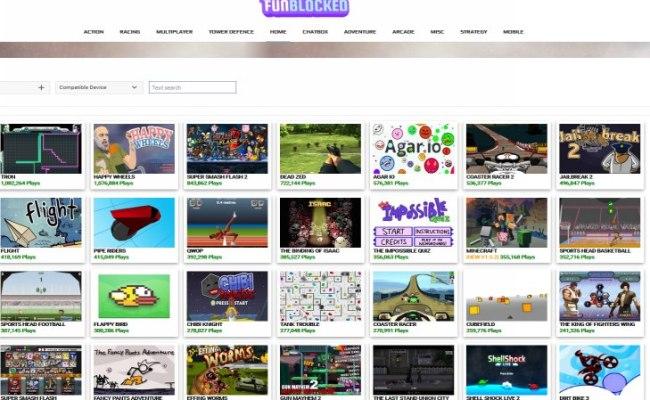 Best Unblocked Games Websites 2017 Updated Level Smack